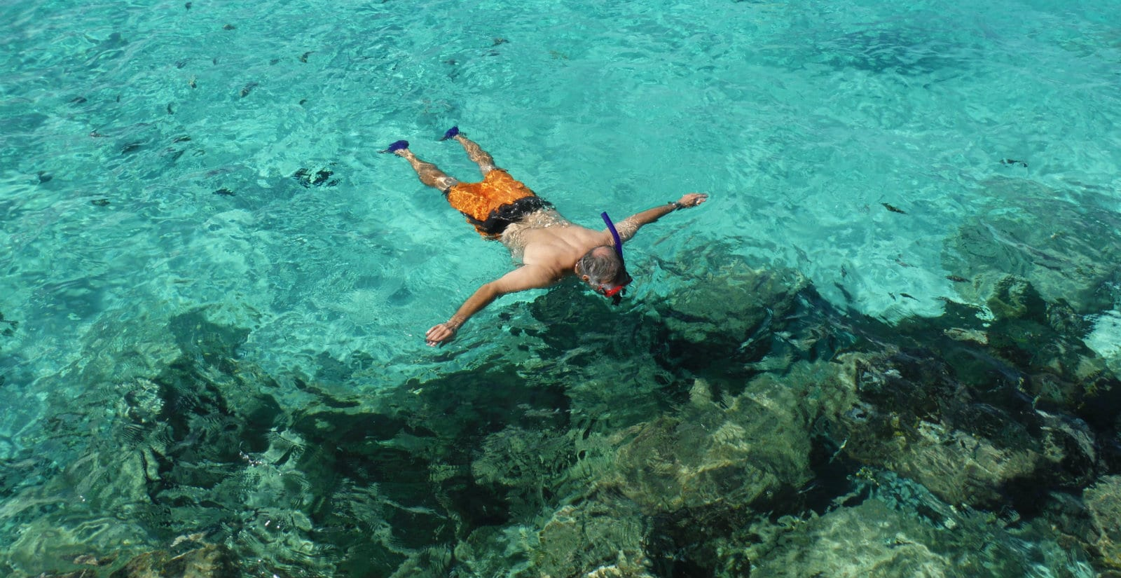 snorkelling at Princess Cays