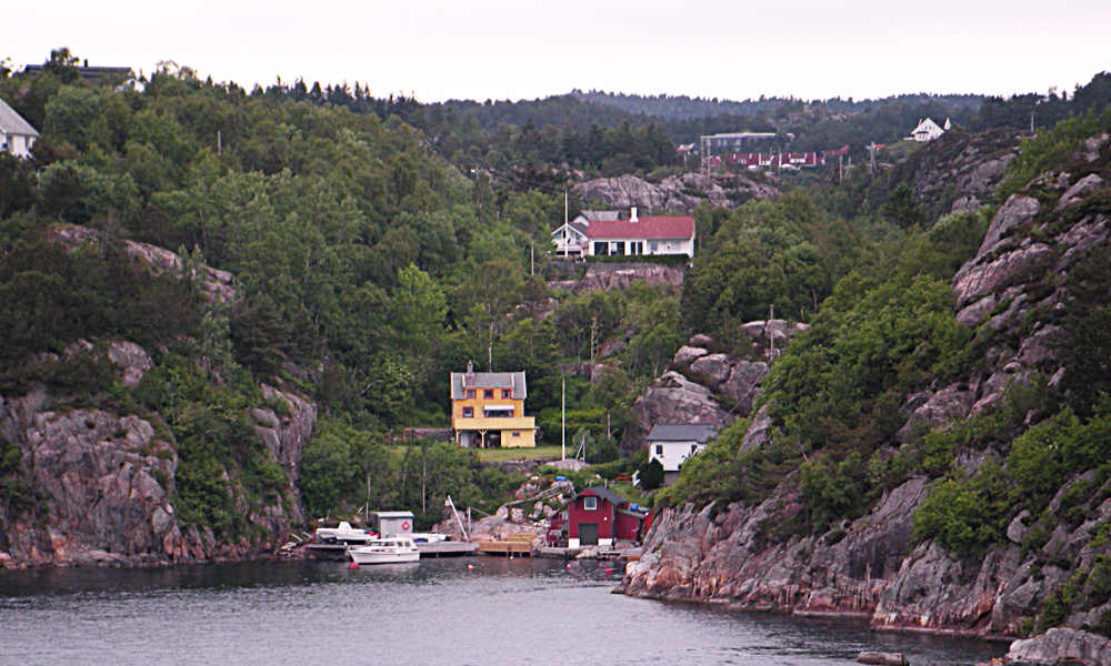 very small fishing village on our way to Flaam