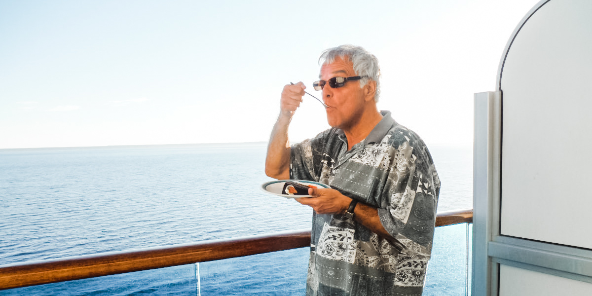 How to not gain weight on a cruise