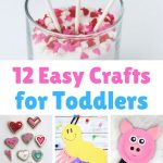 12 easy crafts for toddlers