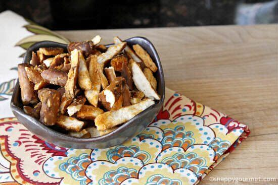 Buffalo Pretzels - Easy Appetizers